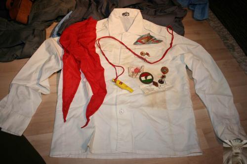 Úttörő ruha